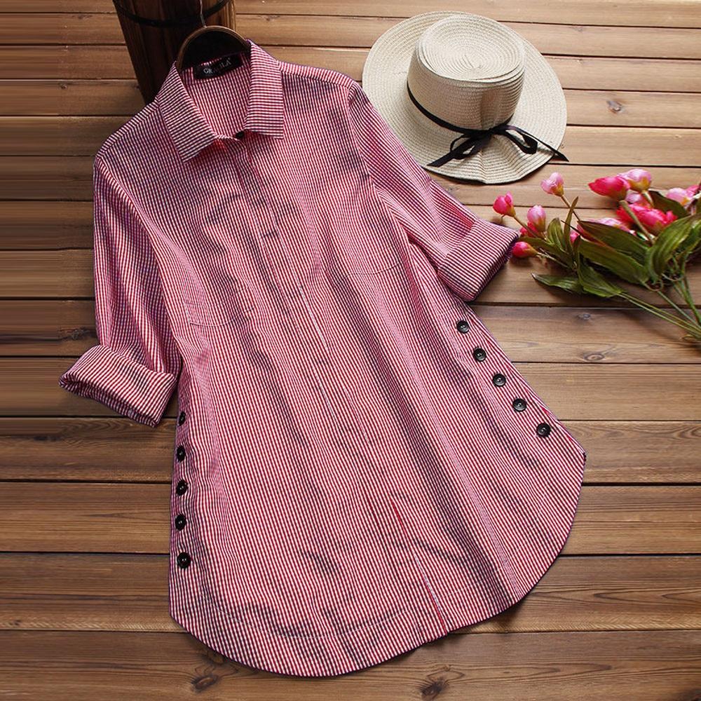 Fashion Blouses Women's Long Sleeve Lattice Button Casual Tops Blusas Mujer De Moda Loose Plus Size Solid Blouse Chemise Femme