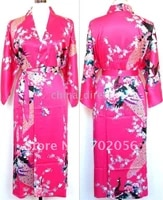 ladies womens satin pajama pjs lingerie sleepwear robe kimono pjs 10pcslot
