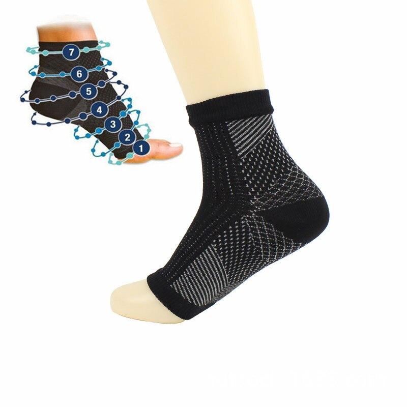 Cómodos calcetines de compresión para mujer, antifatiga, con mangas elásticas, para hombre, calcetines para mujer con Relieve en el tobillo