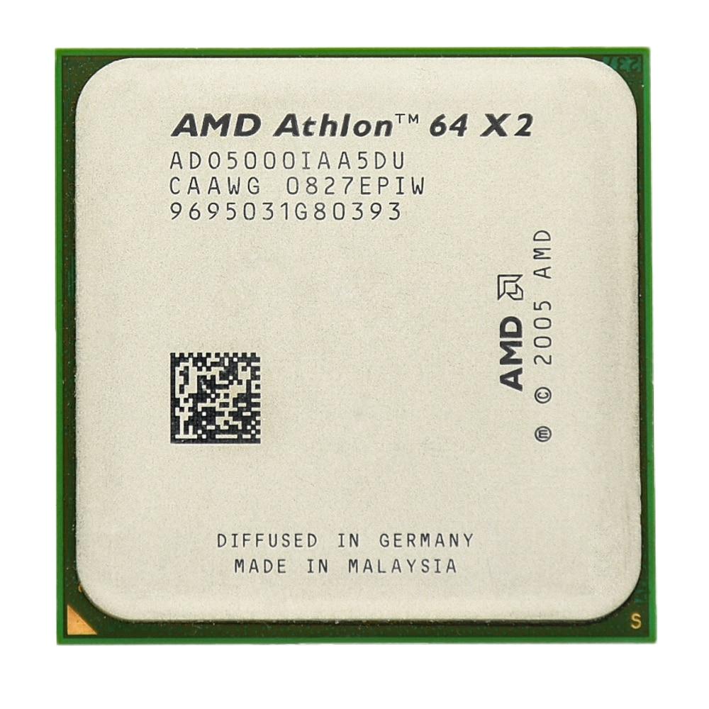 AMD Athlon 64 X2 5000 + Dual-Core de 2,2 Ghz 1M 1000MHZ...