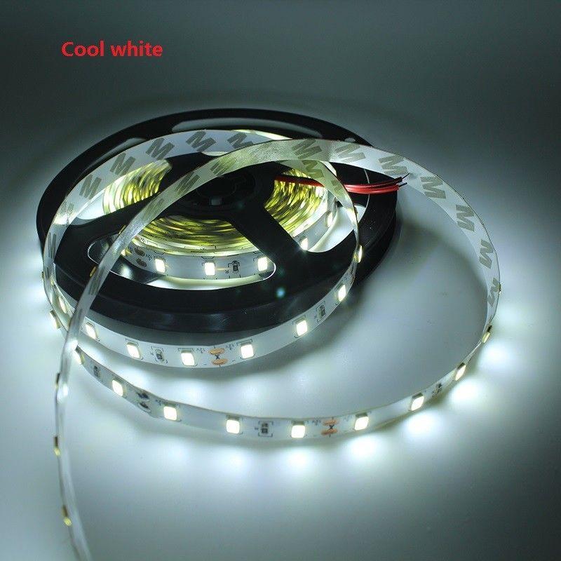 150 M 300LED 5630 SMD 12 V 60led/m Luz de Tira Flexível Cool white não-impermeável