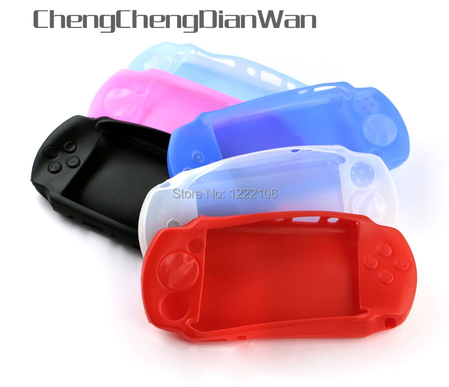 Силиконовый мягкий защитный чехол OCGAME для Sony PSP E 1000, консоль для PSP E1000, защитный чехол для корпуса 5 шт./лот