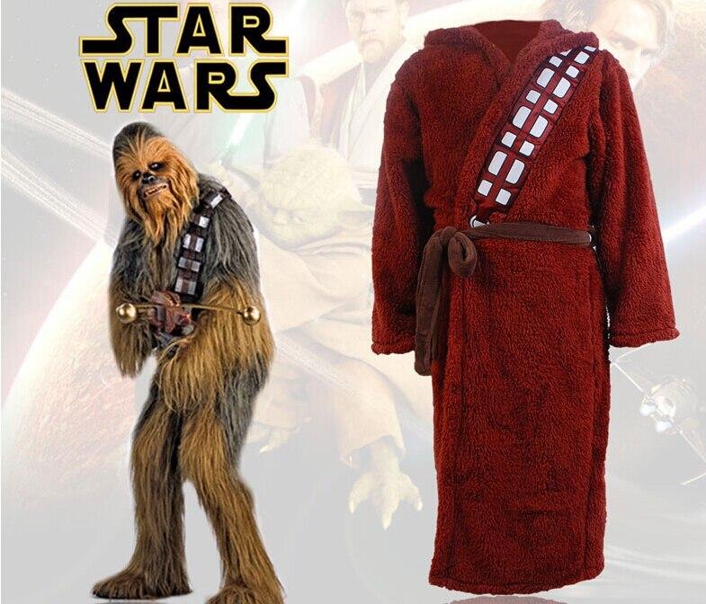 Звездные Косплей войны Чубакка ходди банный Халат косплей костюм халат для взрослых мужчин Хэллоуин