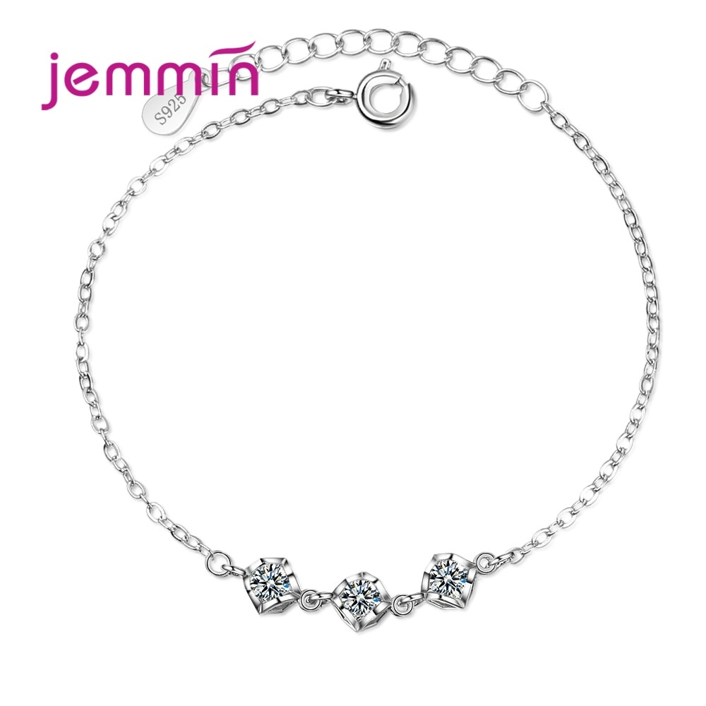 Новые горячие S90 модные очаровательные браслеты Стиль Искрящийся фианит лучший подарок для женщин девочек Вечеринка деловая встреча
