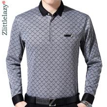 2019 brand long sleeve fitness polo shirt men camisa masculino casual argyle polos shirts mens poloshirt clothing jersey 9360
