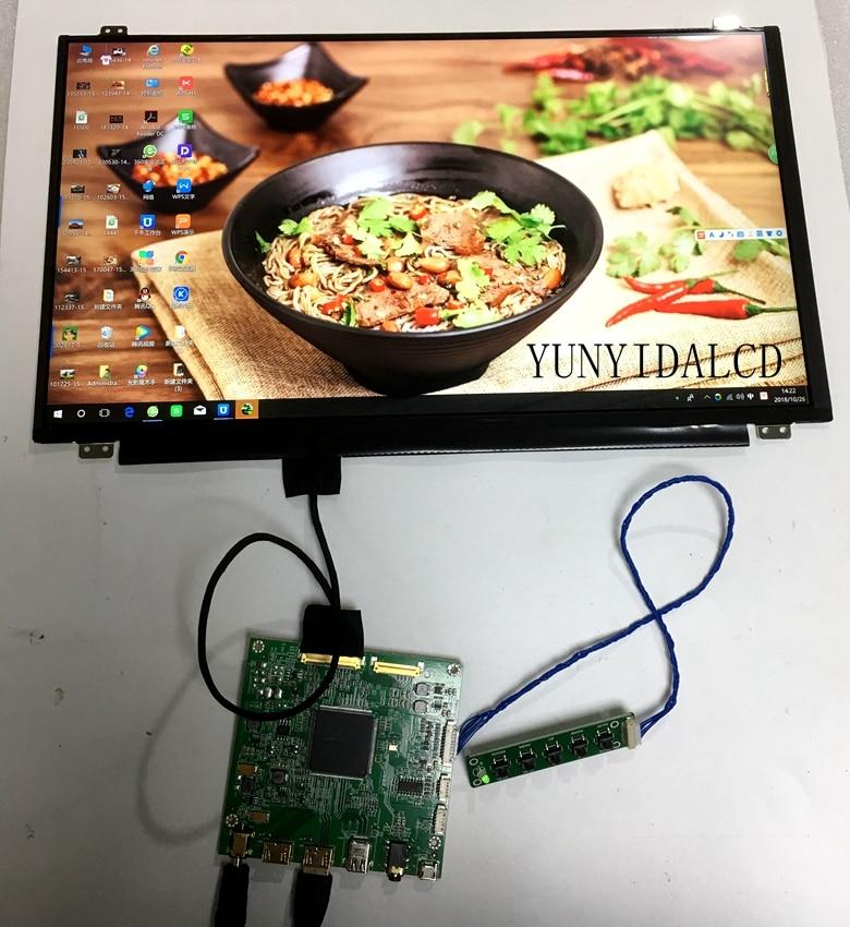 15.6 inch 4K 3840*2160 UHD New Original Display DisplayPort Driver Board Wide Angle DP LCD Screen Module Monitor Laptop PC