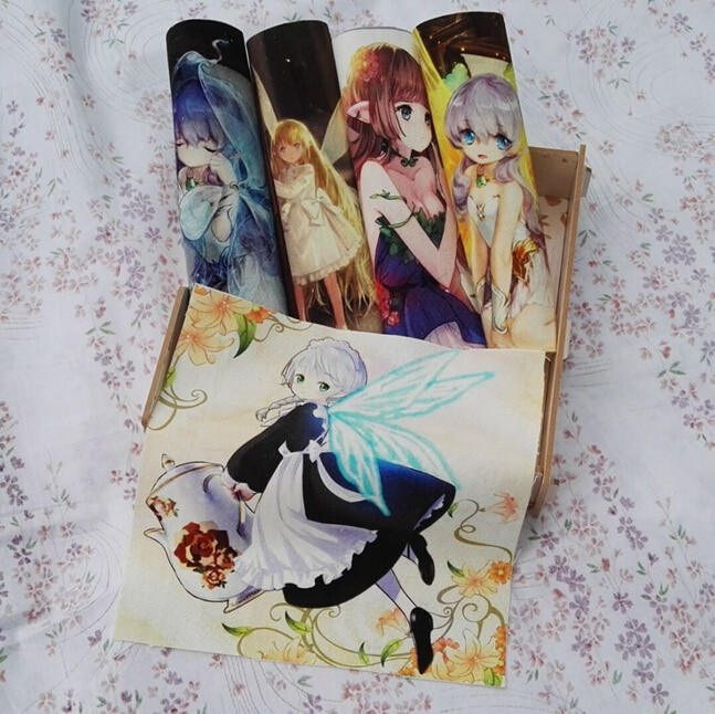 Angel Beautiful flower girls 100% diy retazos para coser bolso cojines zapatos tejido hecho a mano diy tela