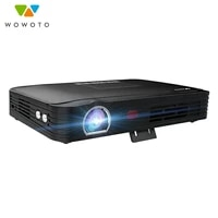 Projecteur Portable T9 4K  entierement automatique  Wi-Fi  Bluetooth  4000Lumens  mise au point automatique  Home cinema