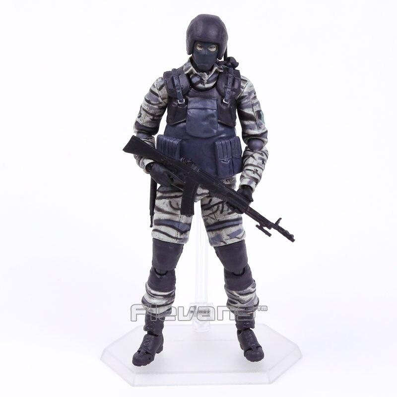 Figura de acción de METAL GEAR SOLID 2 SONS OF LIBERTY Figma 298 gurlukovic, juguete de modelos coleccionables en PVC