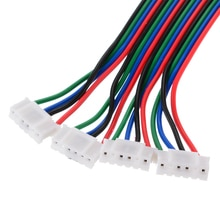 4pcs 100cm 4-Pin Stepper Motor Cable Connector Terminal Wire Line for NEMA 17 Stepper Motor 3D Printer