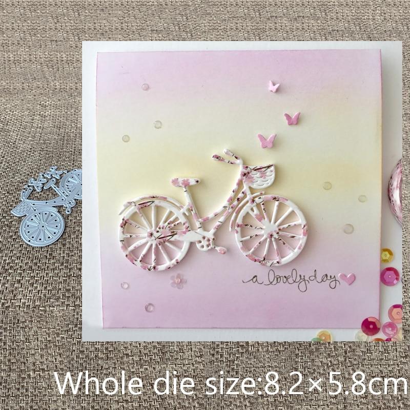 Troqueles de corte de Metal, troqueles de corte de mariposa, decoración de corazón para bicicleta, álbum de recortes, tarjeta de papel artesanal en relieve, troqueles