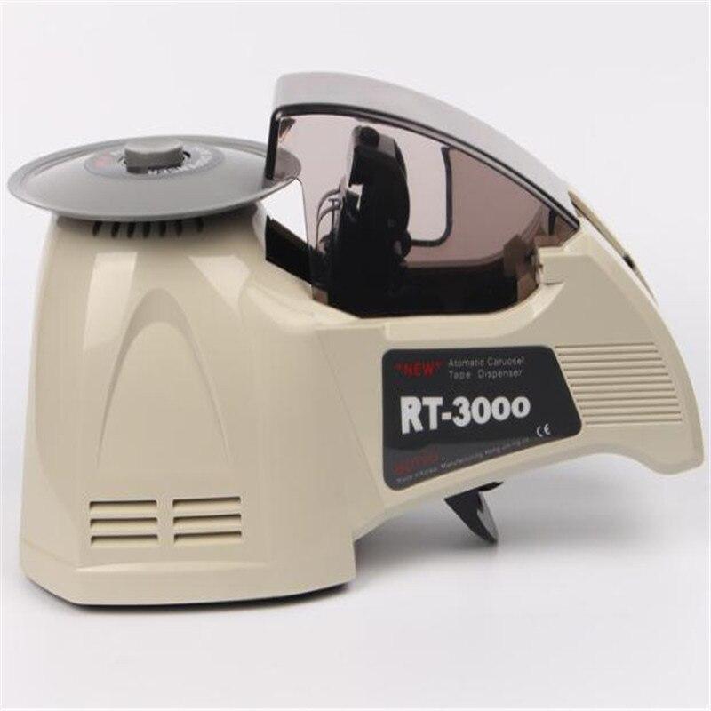 RT-3000 موزع الشريط ماكينة تقطيع الأشرطة ABS المواد ، مناسبة العرض: 5-25 مللي متر ، طول القطع: 10-60 مللي متر