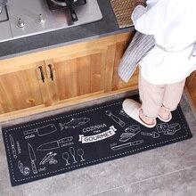 Honlaker, полипропиленовые кухонные коврики, двери, двери, коврики для гостиной, 40x120 см, длинные коврики