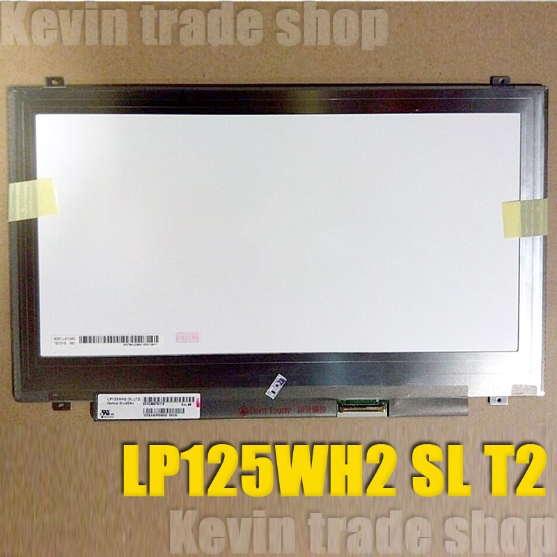 "IPS (1366*768) 12,5 ""дюймовый ЖК-экран для ноутбука LP125WH2 SLT2 LP125WH2-SLT2 для Toshiba Satellite U920T матрица дисплея"