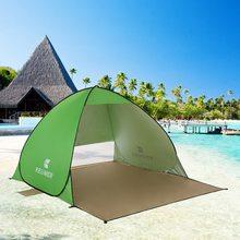 Tente de Camping automatique en plein air tente de plage abri anti-uv Camping pêche randonnée pique-nique mise en place instantanée abri solaire en plein air