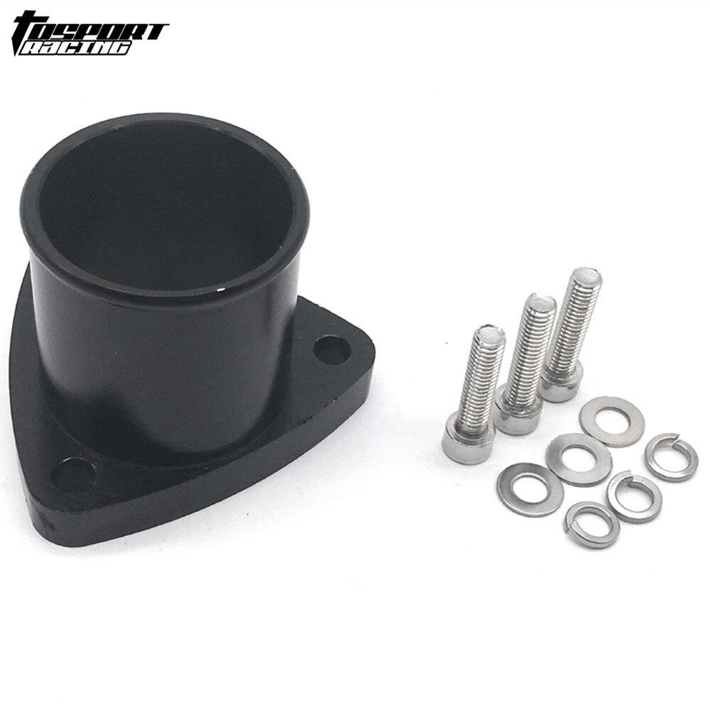 Adaptador de salida de 3 pernos de aluminio Billet para brida de compresor GT28R/GT25R/T25/GT28RS