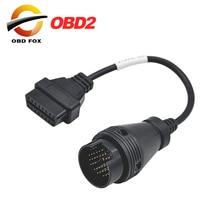 2017 для IVECO 38Pin кабель OBD 2 диагностический Соединительный адаптер для автомобильной диагностики Интерфейс кабель для грузовиков Ивеко Бесплатная доставка