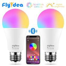 Sans fil Bluetooth 4.0 ampoule intelligente LED magique RGBW lampe déclairage à la maison 10W E27 changement de couleur Dimmable AC85-265V appliquer à IOS Android