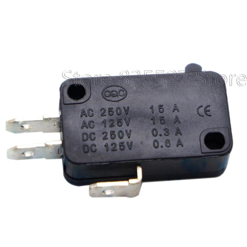 50 unids/lote gran micro interruptor V-15-1C25 de punto V-15-IC25 horno de microondas interruptor de contacto de cobre punto tacto interruptor