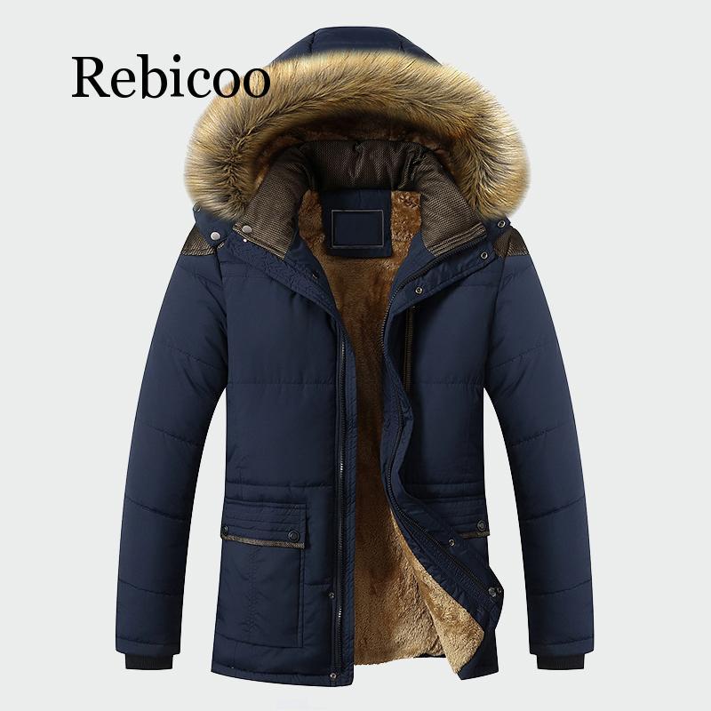 Мужская приталенная куртка с капюшоном, темно-синяя Повседневная Длинная приталенная куртка с капюшоном, зима 2019