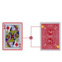 Deck cartes magiques marqué décapant Deck cartes à jouer Poker tours de magie gros plan rue accessoires de magie enfant Puzzle jouet 83196