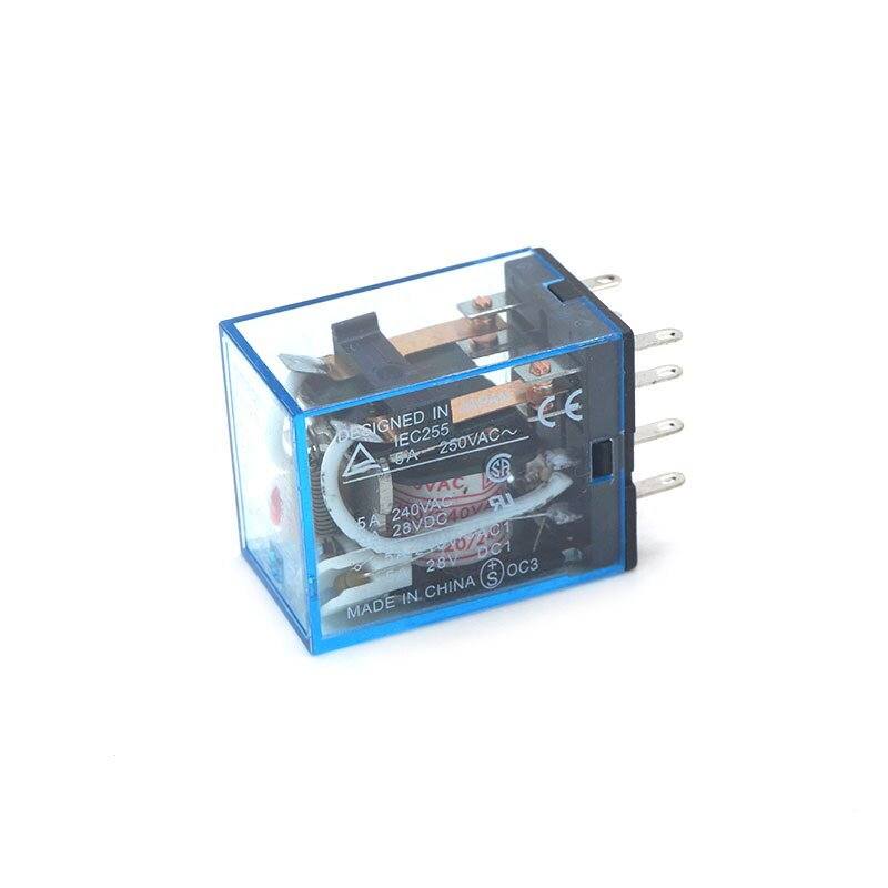 1 pcs 110 V/120 AC 5A Bobina Power Relay DPDT MY2NJ 8Pin 5A