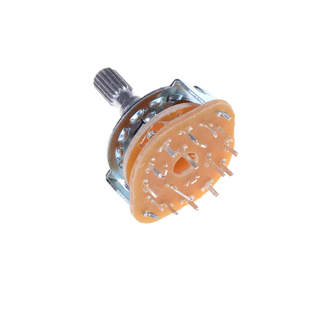 Hohe Qualität Elektronische Maschine 3P4T 3Pole 4 Position 15 Pin Drehschalter