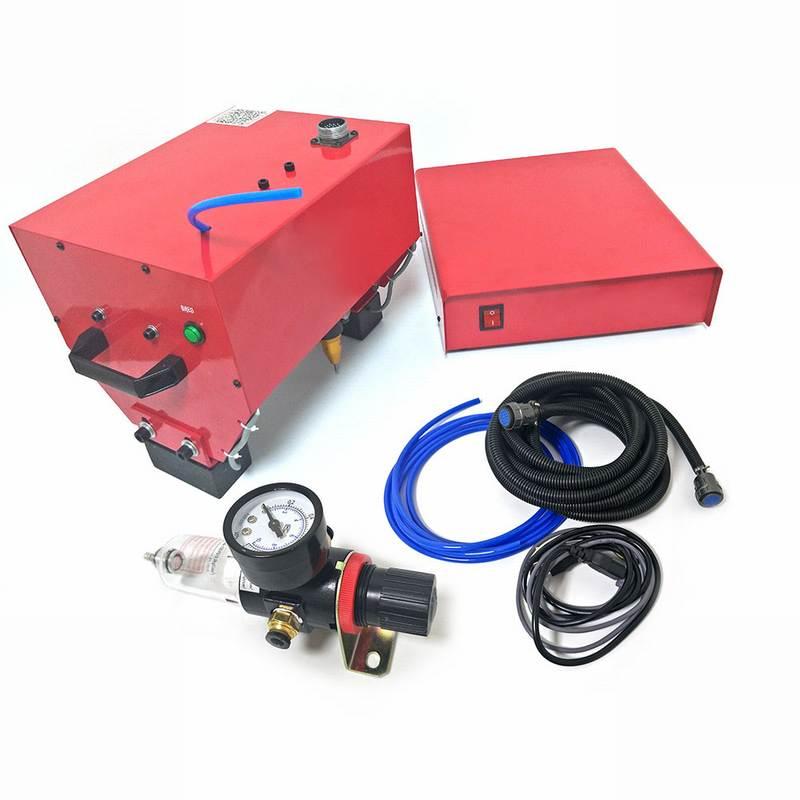 آلة وسم السطح المعدنية المحمولة ، رمز VIN (170*110 مللي متر) ، للإطار ، رقم الهيكل 220 فولت/110 فولت