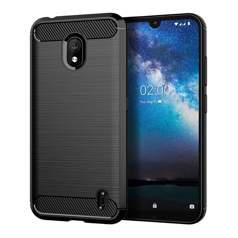 Carbon Fiber TPU Case For Nokia 7.2 2.2 3.2 6.2 6.1 5.1 Plus 4.2 7.1 2.1 3.1C C1 X3 X6 2018 X71 9 PureView Nokia 8 Case Silicone
