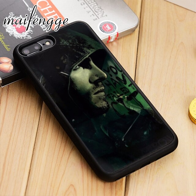 Maifengge serie de televisión estadounidense flecha verde cubierta de la caja del teléfono para iPhone 6 6s 7 8 plus 11 pro X XR XS max Samsung S7 borde S8 S9 S10