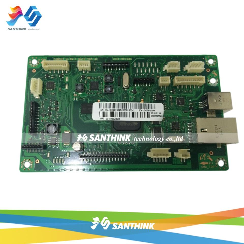 100% Teste de Placa Principal Para Samsung SCX SCX-3405FW 3405FW 3405 SCX3405FW Formatter Placa Mainboard À Venda