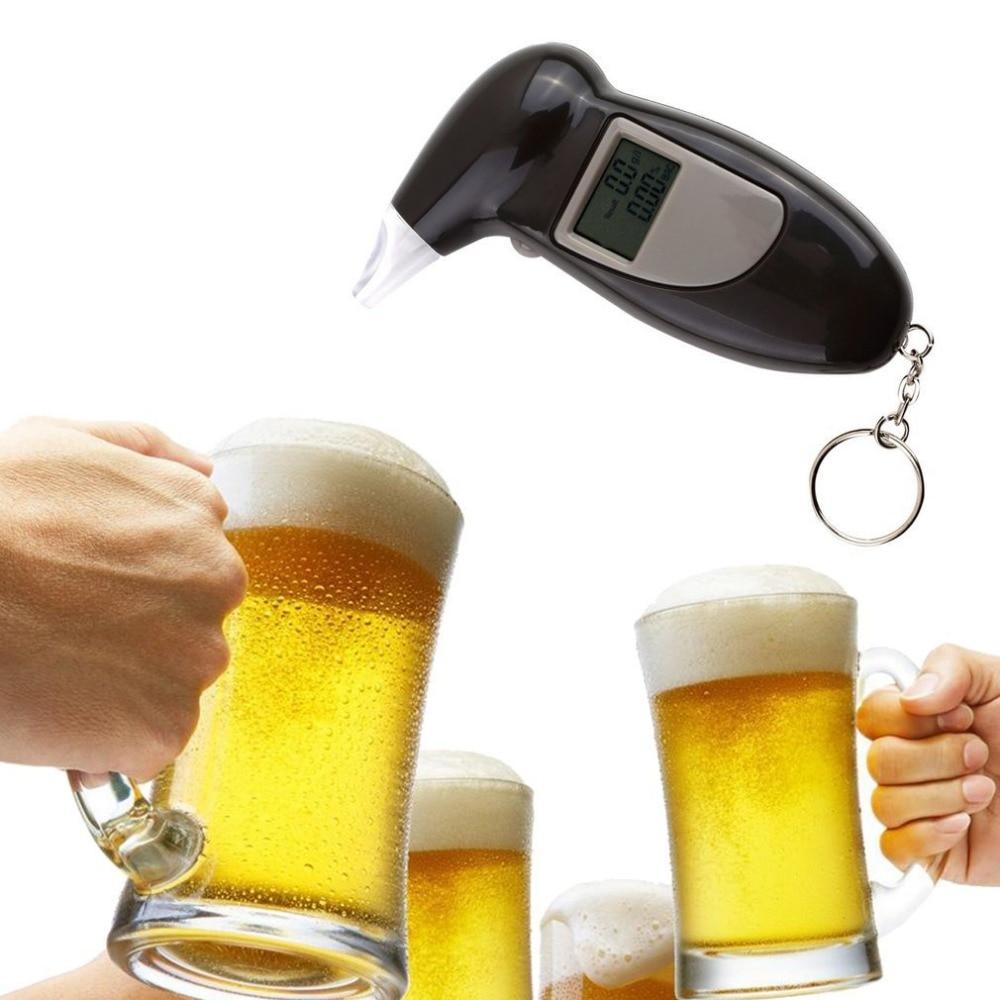 Nuevo producto, alcoholímetro, analizador, Detector de alcoholímetro, llavero, alcoholímetro, pantalla