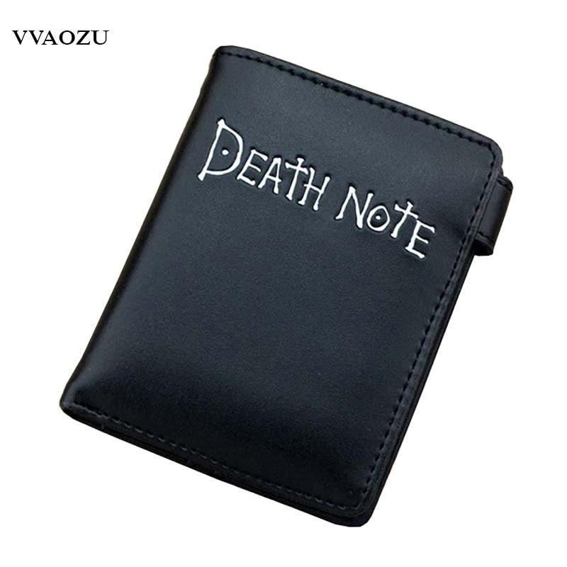 New Designer Death Note Short Wallets Pocket Wallet Purses Money Bag