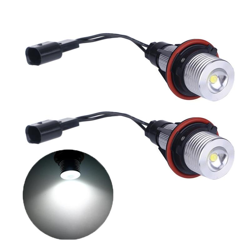 3 Watt 6500 karat LED Angle Augen Halo Xenon Marker Ring Licht Keine Fehler lampe Für BMW E39 E53 E60 E61 E63 E64 E65 E66 X5