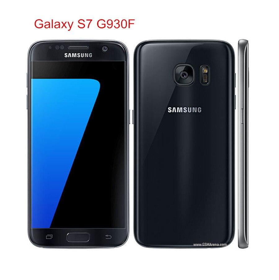 """Samsung galaxy s7 g930f original desbloqueado lte android celular octa núcleo 5.1 """"12mp 4 gb ram 32 gb rom exynos nfc impressão digital"""