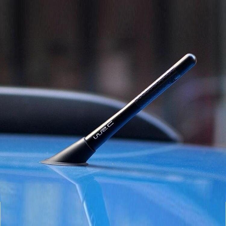 Автомобильная антенна Стиль углеродного волокна радио fm на антенна для Skoda Octavia Fabia Rapid Superb Yeti Roomster