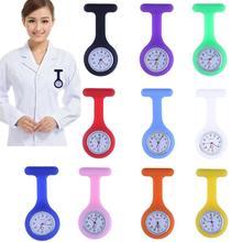 Hot Fashion Tasche Uhren Silikon Krankenschwester Uhr Brosche Tunika Fob Uhr Arzt Medizinische Krankenhaus Krankenschwester Uhren reloj de bolsillo