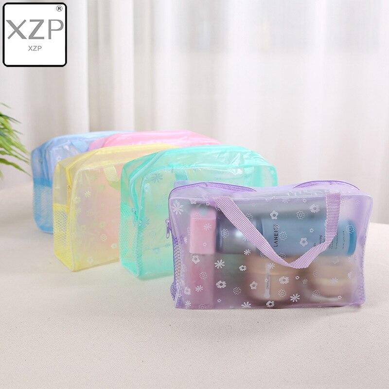 XZP 2019 nueva moda impermeable portátil maquillaje cosmético neceser viaje maquillaje cosmético lavado cepillo de dientes bolsa organizadora bolsa