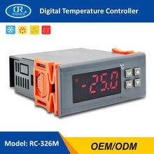 RINGDER RC-326M Kälte Temperatur Controller Regler Thermostat Zwei Sensoren Kompressor Abtauung Fan Funktion STC-9200