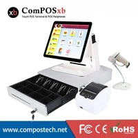 high configuration touch screen pos machine windows pos terminal all in one pos system
