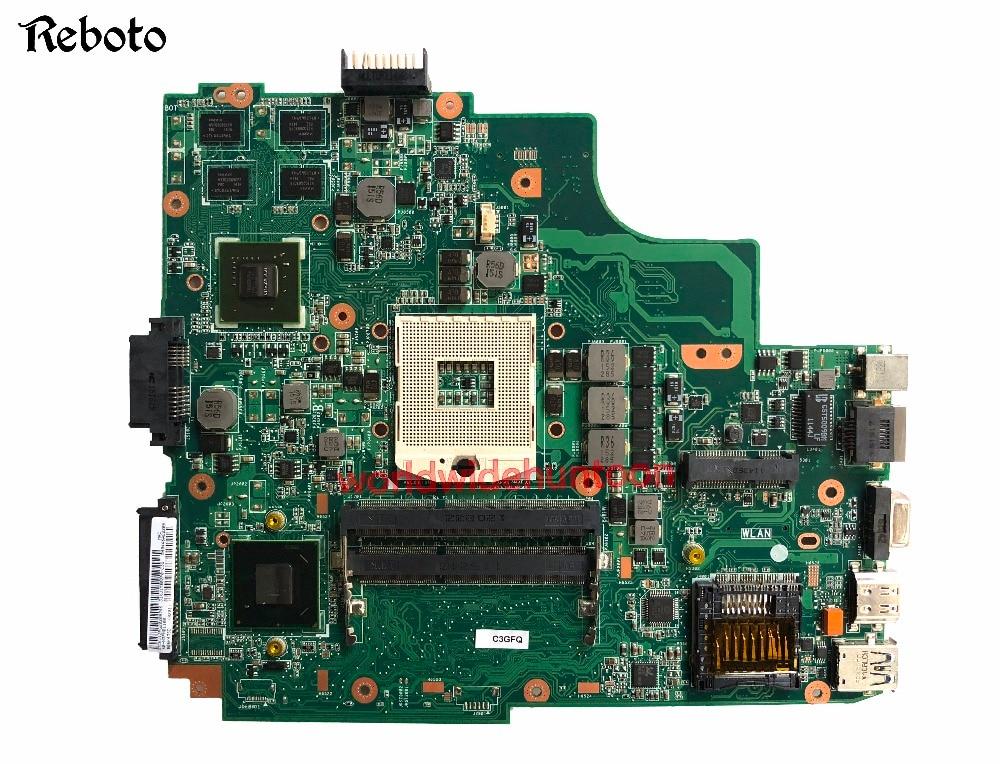 Classy A43SD X43S Laptop Motherboard Para Asus K43SD K43SD PLACA PRINCIPAL rPGA989 PN N13M-GE1-S-A1 GPU DDR3 100% Testado Inteiramente