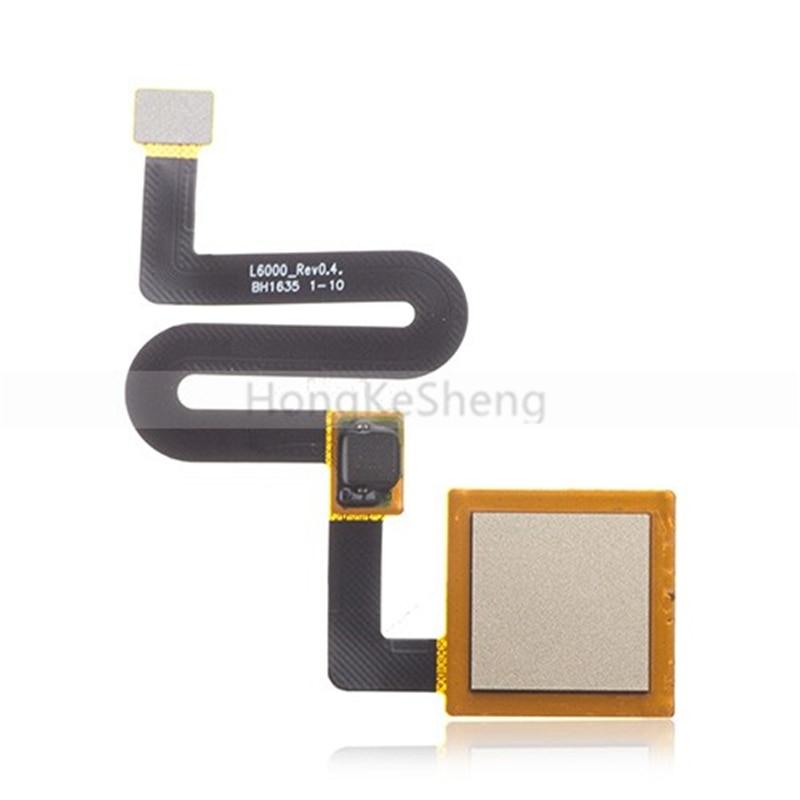 OEM escáner de huellas dactilares Flex reemplazo ID inicio botón montaje Flex Cable para Motorola Moto M XT1662 XT1663