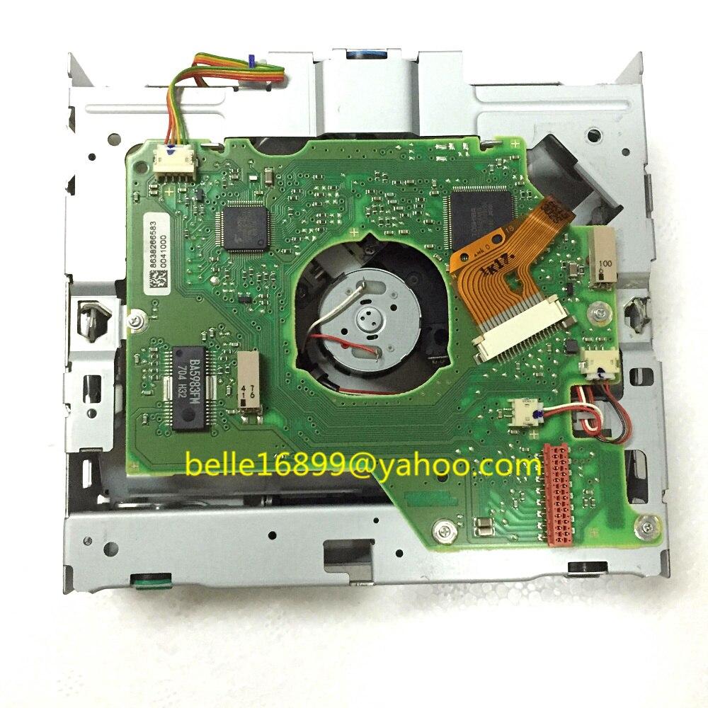 100% Original nuevo Matsushita cargador de CD BP7-MP3 MECANISMO DE dddt con 2 soportes con láser RAE501 para coche Ford VW radio