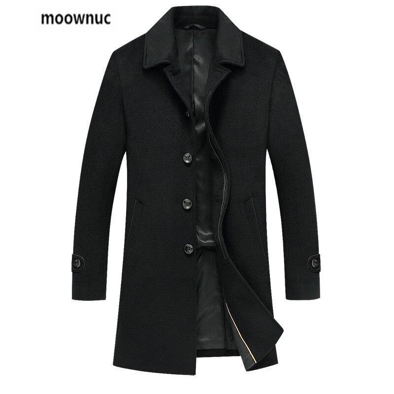 2019 جديد الخريف و الشتاء معطف الرجال جودة عالية الكلاسيكية خندق معطف الرجال ، الرجال الأزياء يتأهل الشتاء معطف حجم M-XXXL