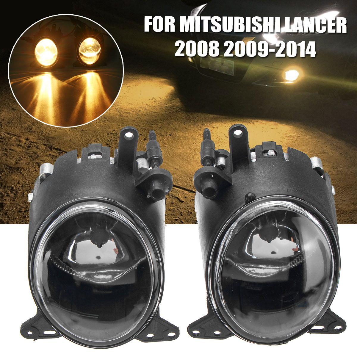 Fog Light Fog Lamp Assembly For Mitsubish Lancer 2008 2009 2010 2011 2012 2013 2014 LED Car Light Auto Accessories