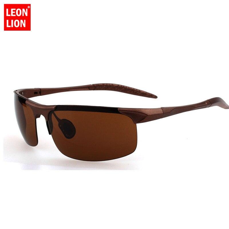 Мужские классические солнцезащитные очки LeonLion, очки для вождения и рыбалки, UV400, UV400, 2019