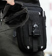 2019 sac de taille tactique en Nylon imperméable noir sac de Sport en plein air sac de Camping militaire sac de randonnée sac de ceinture