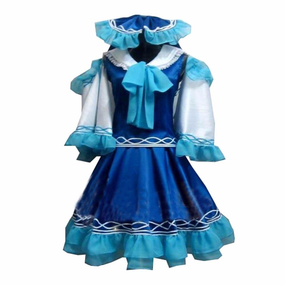 Disfraz de Halloween 2018, proyecto Touhou Reimu Hakurei, traje de Cosplay hecho a medida