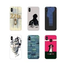 Pour Samsung Galaxy J1 J2 J3 J4 J5 J6 J7 J8 Plus 2018 Prime 2015 2016 2017 accessoires coque de téléphone couvre Sherlock Dr Watson accueil