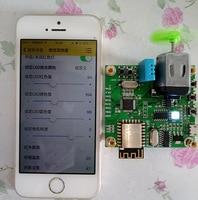 Free shipping 2pcs/lot Stm32+esp8266 wifi IOT cloud board smart home to send app source code module sensor